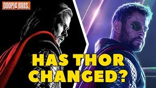 How Has Thor Changed During the MCU? (Evolution of Thor)