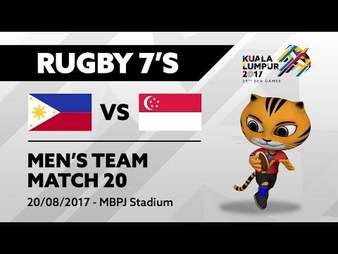 KL2017 Men's Rugby 7's - PHI 🇵🇭 vs SGP 🇸🇬 | 20/08/2017