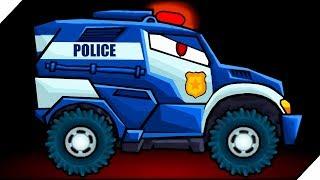 ПОЛИЦЕЙСКАЯ МАШИНА против КОМБАЙНА - Игра Car Eats Car 3. Хищные машинки # 6 Игра для мальчиков