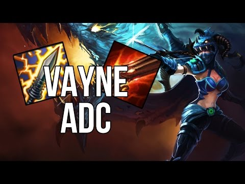 League of Legends - Dragonslayer Vayne ADC - Full Game Commentary