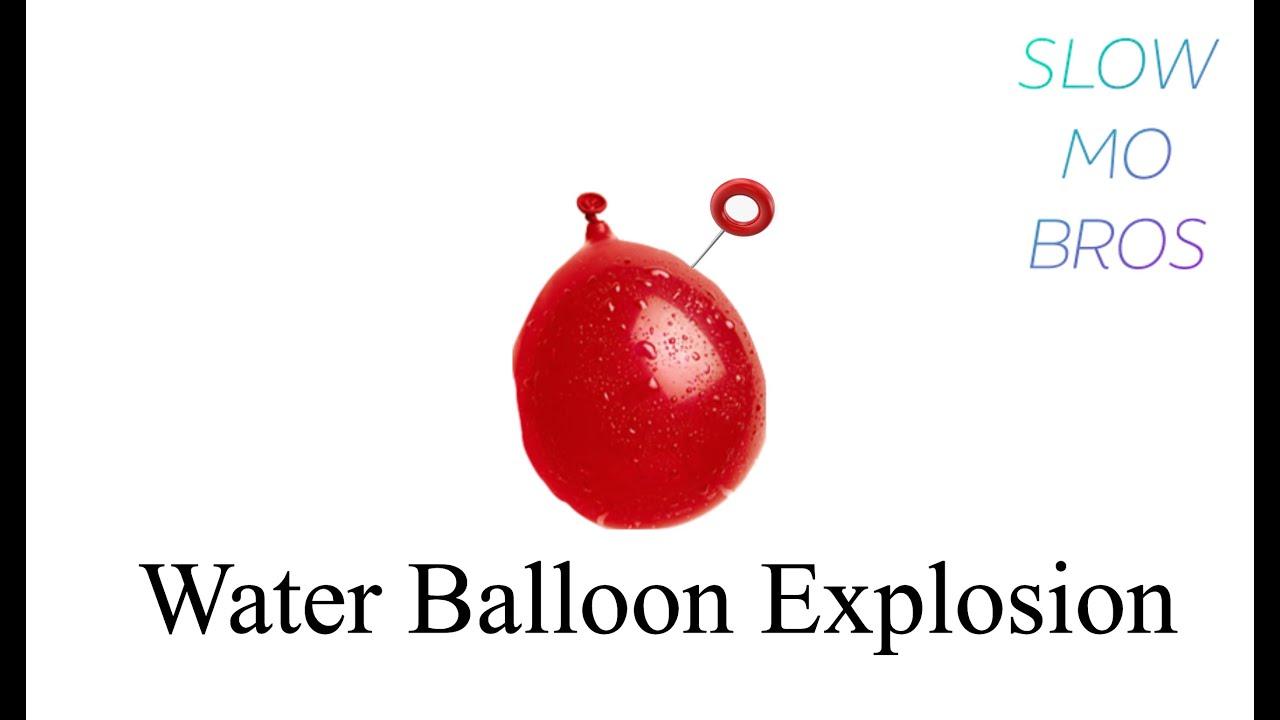 Water Balloon Explosion