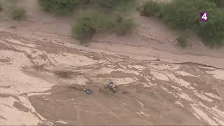 Crash Adrien Van Beveren Dakar2018