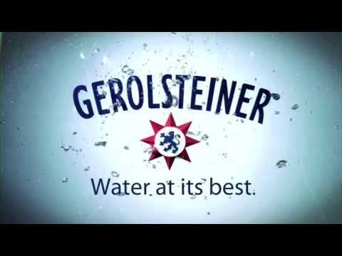 Gerolsteiner Water  |  Chef Kurt Gutenbrunner