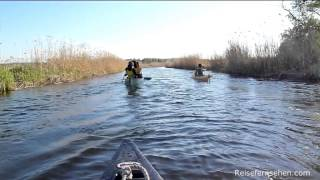 Mecklenburg-Vorpommern: Kanu-Tour auf der Peene by Reisefernsehen.com - Reisevideo / travel video