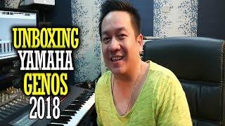 Unboxing YAMAHA GENOS 2018 | INDONESIA - DORMAN MANIK