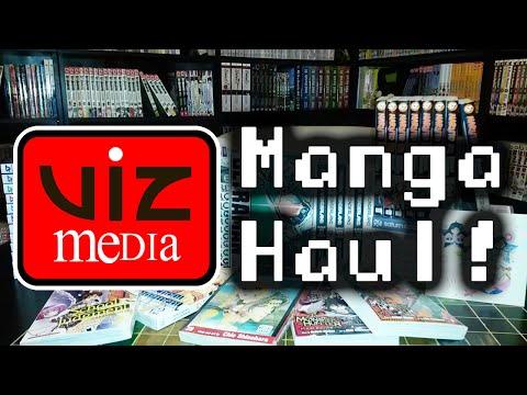 Unboxing ~ VIZ Media Manga Haul