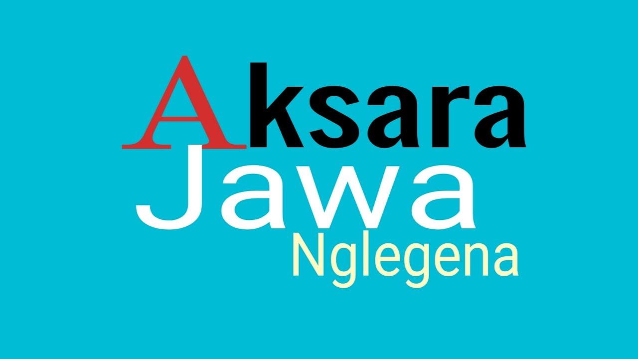 Aksara Jawa || Nglegena - YouTube