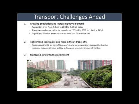 Integration of Transport and Land Use Plans in Singapore, Kenneth Wong