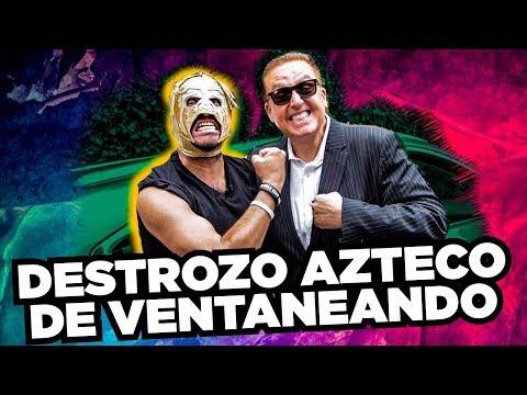Daniel Bisogno y Súper Escorpión Dorado Al Volante