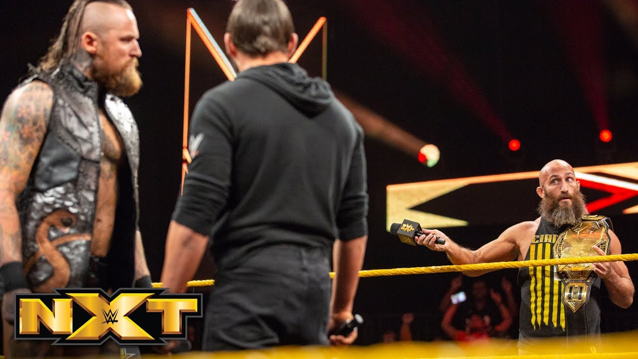 Ciampa instigates a Steel Cage Match between Black and Gargano: WWE NXT, Dec. 5, 2018