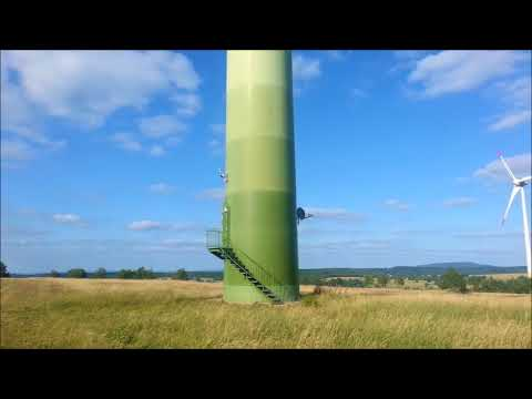 Wind Power Plant, Petrovice, Czech Republic from Travel with Iva Jasperson
