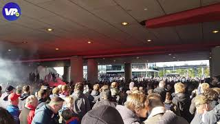 Warmdraaien voor Klassieker: Ajax-fans gaan los bij Arena