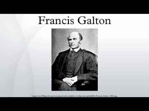 Francis Galton