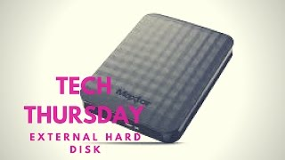 External Hard Drive 2TB USB 3.0 | Maxtor M3 Portable (Passport) | YouTube vid archive