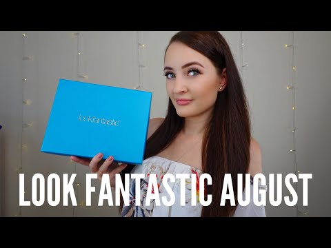 Look Fantastic August 2018 Beauty Box Unboxing & Discount Code!