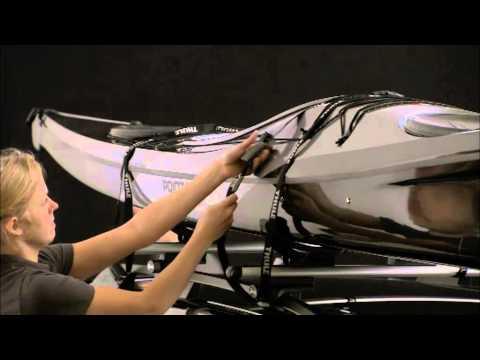 auto-dynamic.ru Багажник для лыж Thule Deluxe 740из YouTube · Длительность: 1 мин38 с