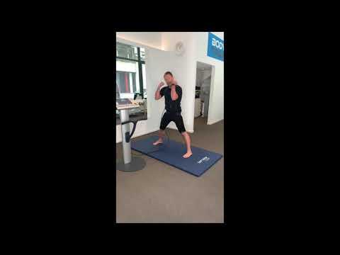 Une séance EMS de base chez Body Training studio  avec Daniel Camus