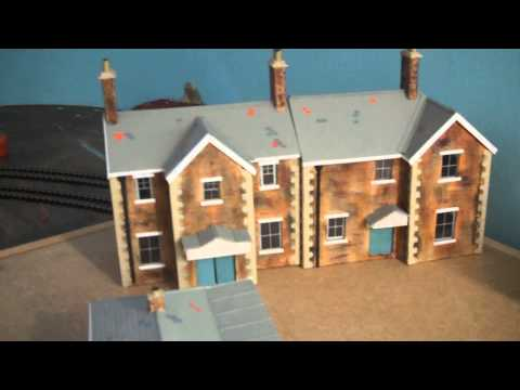 October update Amberton 00 gauge model railway