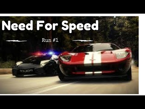 NEED FOR SPEED RUN#1 LE CHAUFFARD ARRIVE