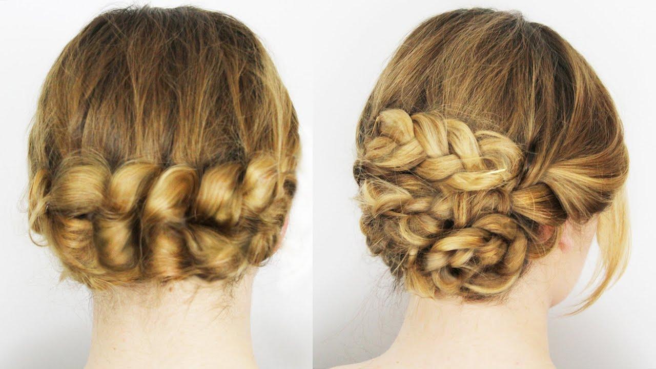 Hochsteckfrisuren Einfach Selber Machen Für Lange Und Mittel Haare