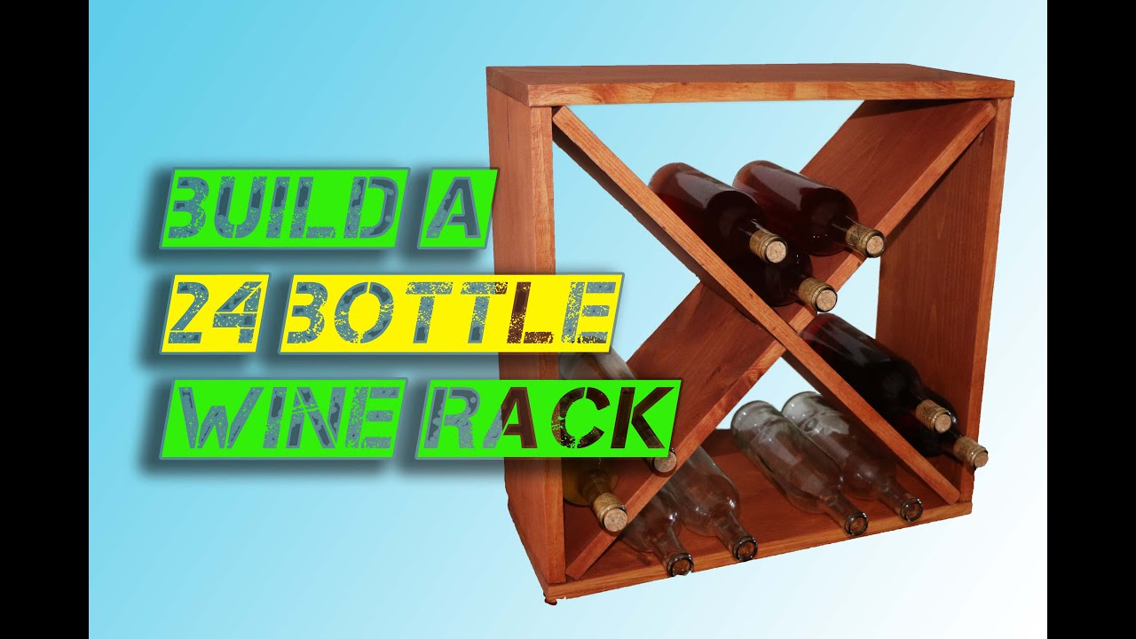 Wine Bottle Storage Angle How To Make A Wine Rack Storage Cube Jeffs Diy Projects