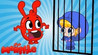 Morphle Robs A BANK!! | Mila and Morphle | Cartoons for kids | Funny videos for Children