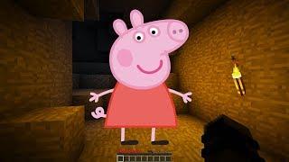 NE JAMAIS APPELER PEPPA PIG A 3H DU MATIN SUR MINECRAFT !! 😱 *EFFRAYANT*   (Troll Base Secrète)