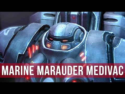 StarCraft 2: Legacy of the Void - Marine Marauder Medivac!