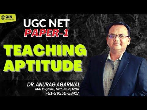 UGC NET PAPER 1 Teaching Aptitude | UGC NET Exam Preparation Paper 1