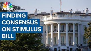 Republicans work to reach consensus on stimulus bill