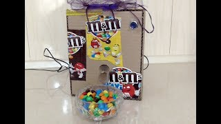 DIY - How to make M&M's or Skittles candy machine