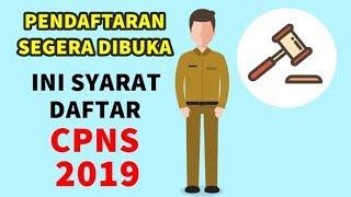 Download Video PENDAFTARAN SEGERA DIBUKA! SYARAT DAFTAR CPNS 2019! WAJIB TAU BAGI YANG INGIN MELAMAR TAHUN INI! MP3 3GP MP4