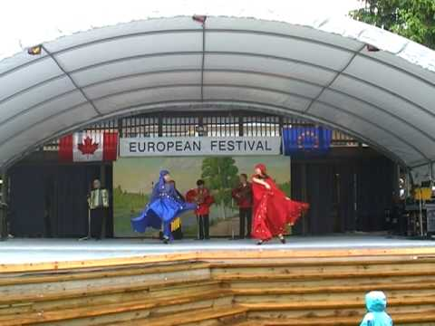 "EuroFestBC 2010 Russia Gypsy Dance Group ""Romane Vancouver"" Danu-dana"