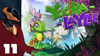 Let's Play Yooka Laylee - PC Gameplay Part 11 - Go For The Eyes Boo!