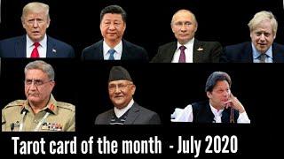 Donald Trump | Vladimir Putin | Xi Jinping | Tarot Card of the month  July 2020 | Tarot reading