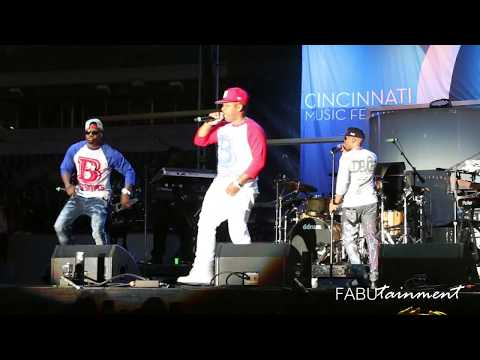 FABUcam Concert Series Presents Bell Biv DeVoe at the 2017 Cincinnati Music Festival