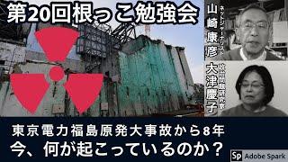 第20回「根っこ勉強会」テーマ:東電福島第1原発大事故から8年経った今、何が起こっているのか?