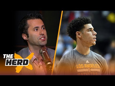 LeBron James watches Lonzo Ball: Is Lonzo already living up to the hype? | THE HERD