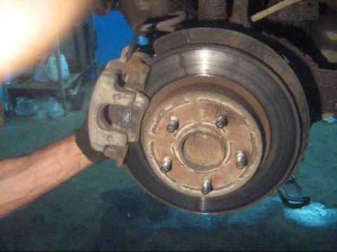 замена задних колодок Форд Фокус 3