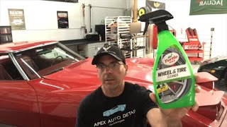 Turtle Wax FOAMING Wheel & Tire Cleaner!! How Does This Compare To The Last 2 We Reviewed?