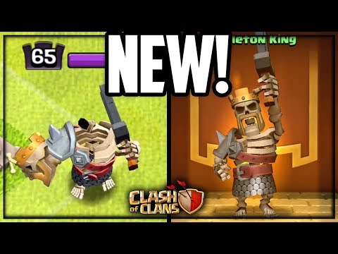 HEADLESS Skeleton King! NEW Clash Of Clans Update!