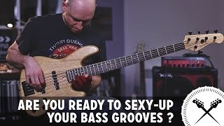Sexy Up Your Bass Grooves with these Cool Articulations /// Scott