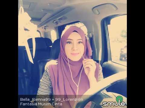 FANTASIA MUSIM CINTA (Cover by 99_Lorenzi6n ft Bella_Rienna99) #SMULE MALAYSIA