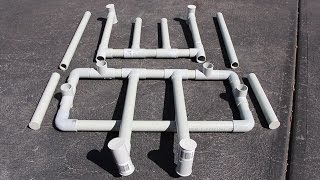 Pvc Drying Racks For Scuba Gear And Drysuit