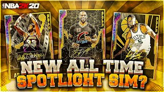 NEW *FREE* ALL TIME SPOTLIGHT SIM + GOAT CARDS COMING TO NBA 2K20 MyTEAM❓❓❓
