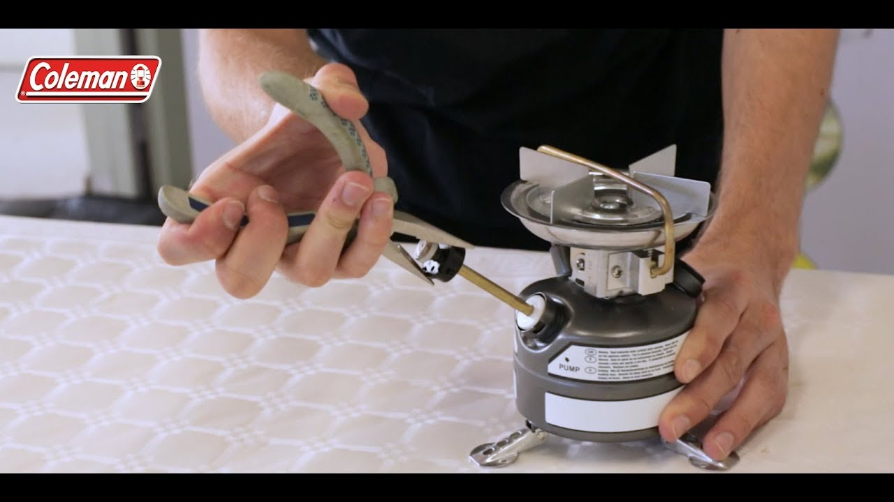 How To Remove Coleman Pump Plunger