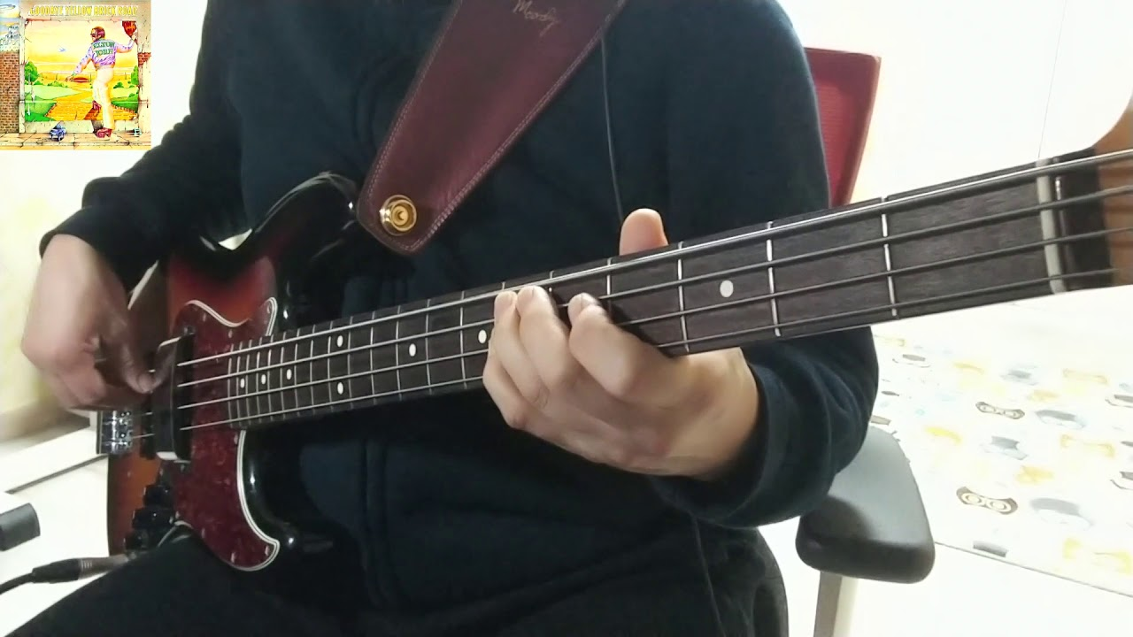 48 Elton John - Candle In The Wind(Bass Cover) - YouTube