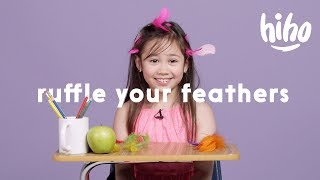 """Wordplay: Kids Guess what """"Ruffle Your Feathers"""" Means 