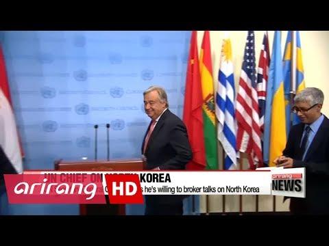 UN Secretary General offers help to revive six-party talks on N. Korea