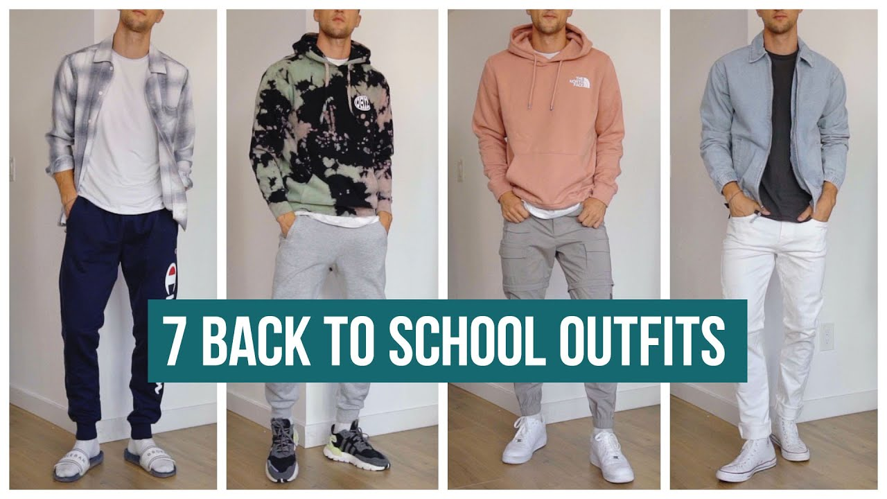 20 Back to School Outfits for 20   Men's Fashion   Outfit Inspiration